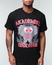 Akademiks Mens Hip Hop Edukater Star Summer Skater Tee Shirt Time Money G Is