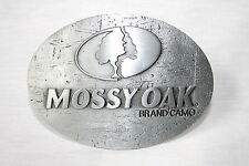 MOSSY OAK LOGO METAL BELT BUCKLE