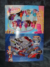 Rare McDonald's Display- Hot Wheels Battle Force 5- Barbie Fairie Secret