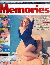 Memories April 1989 VG- Rita Hayworth cover and story 8 pgs 13 pics