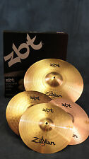 """Zildjian ZBT ZBTS3P-9 ZBTS3P9 3 Cymbal Box Set Pack 13"""" Hats 14"""" Crash 18"""" Ride"""