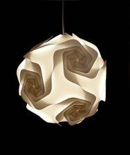 Lustre Suspension 002M - 30 Eléments Ø 30 cm - lampe puzzle - iq lamp