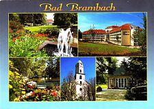 Bad Brambach , Ansichtskarte ; 1998 gelaufen