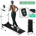 Folding Treadmill Running Walking Cardio Machine Home Gym Fitness Training