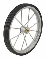 """Replacement Wheel For Shopping Cart Steel Rubber Apex 9.5"""" 150 Lb. 9.25mm Spoke"""