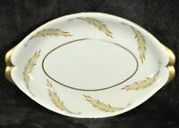 Meito Norleans Courtley Serving Platter & Bowls - Gold Trim Wheat