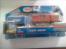 NEW SALTY THOMAS AND FRIENDS TRACKMASTER MOTORISED TRAIN BY FISHER PRICE