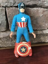 1973 Mego Captain America & Shield 100% Complete—BEATER Type 1