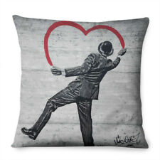 Banksy Love Pillow Cushion Pad Cover Case Bed Graffiti Art