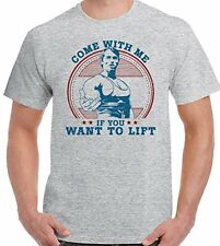 As Worn By Arnold Schwarzenegger Come With Me If You Want To Lift - Mens T-Shirt