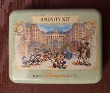 Tokyo Disneyland Hotel Amenity Kit Tin Hinged Lid