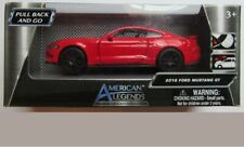 New! American Legends 2018 RED FORD MUSTANG GT 1/43 Scale. FREE Shipping!