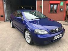 2003 Vauxhall Astra Bertone Edition 100 No: 0296 Just 1 Owner From New F.S.H