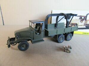735 I Vintage Dinky 808 Camion GMC CCKW 353 Militaire Dépanneuse 1:43 + Boite