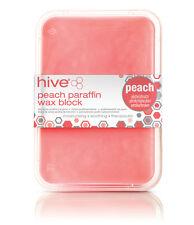 Hive of Beauty cera Peach basso fusione di paraffina trattamento terapia del calore Blocco 450g