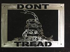 Dont Tread On Me Snake Wall Art