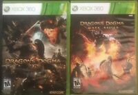 Dragon Dogma And Sragon Dogma Dark Arisen Xbox 360 Game Lot
