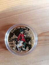 Hans im Glück Medaille Deutschland 2015 Farbe Münze Märchen