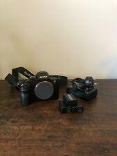 Sony - Alpha a7R II Full-Frame Mirrorless 4k Video Camera - Black