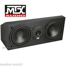 MTX Monitor6c Center Channel Speaker Home Theater 2 Way 200W Monitor 6C Dual 6.5
