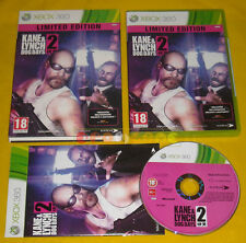KANE & LYNCH 2 DOG DAYS XBOX 360 Versione Italiana 1ª Edizione »»»»» COMPLETO