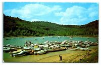 Tygart Lake State Park Boat Docks, Grafton, WV Postcard *314