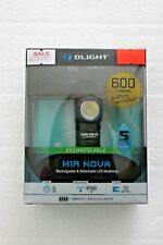 New Olight H1R NOVA 600 lumens Rechargeable & Detachable LED Headlamp