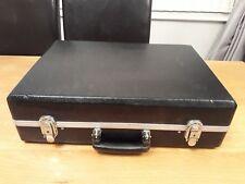 Black engineers technican mechanics tool case storage case