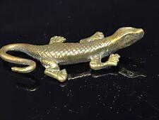 Vintage Brass Lizard Small