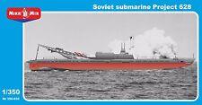 Soviet submarine Project 628 << Micro-Mir #350-030, 1:350 scale