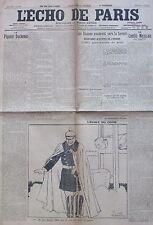 WW1 GUERRE 1914 - 1918 JOURNAL L ECHO DE PARIS JUIN 1916 COMPLET BATAILLE VERDUN