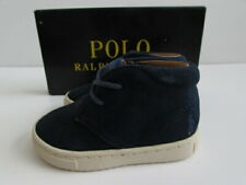 Polo Ralph Lauren Navy Derek Boot Toddler Size 4