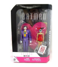 DC Comics BATMAN Joker + Harleyquinn figure Mad Love Collectors Gift box set