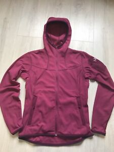 Arc'teryx Covert Hoodie Polartec Fleece Women's Medium Vine Red / Burgundy