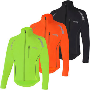 Brisk Bike Cycling Jacket  Highly Visible Lightweight Thermal Unisex Reflective