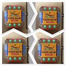 4x TIGER BALM RED HERBAL RUB MUSCLES PAIN RELIEF Made In Singapore