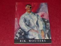 [ART XXe] RIK WOUTERS CATALOGUE EXPOSITION MNAM Paris EO 1957 Rare