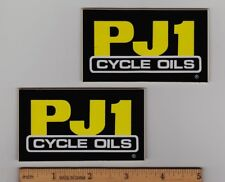 PJ1 CYCLE OILS Vintage Motocross Enduro STICKER Honda Yamaha Suzuki Kawasaki KTM
