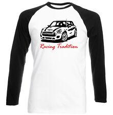 Mini Cooper inspirado Racing tradición P-nueva Camiseta Algodón-todos Los Tamaños En Stock