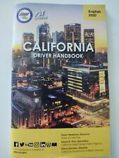 2020 California Dmv Drivers Driver Handbook Manual English Version License Test