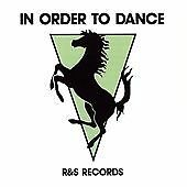 Various Artists In Order To Dance R&S Records new sealed 2CD 2008 Aphex Twin