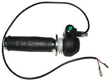 Mini Dirt Pocket Bike Parts Twist Throttle Control Grip 47cc 49cc COOLSTER QG-50