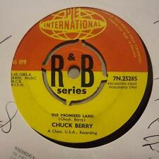 """Chuck Berry(7"""" Vinyl)The Promised Land / Things I Used To Do-Pye-7N 252-Ex/Ex"""