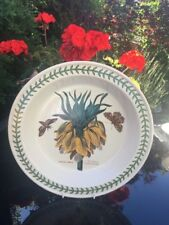 "Portmeirion Botanic Garden - Fritillaria  Pie Dish 10.5"" - Used In Exc Condition"