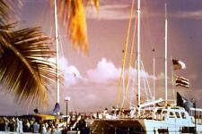 35mm Colour Slide- Hawaii - Offshore Cruise Boat  1960's