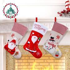 Christmas Stocking Christmas Decorations Home Hanging Socks Santa Claus Candy