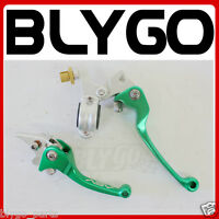GREEN CNC Heavy Duty Clutch+ Brake Lever Set 125cc 150cc PIT PRO TRAIL DIRT BIKE