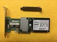 IBM M5014 PCIe x8 8-Ports SAS/SATA RAID Controller Battery +BBU = 9260-8i 256MB