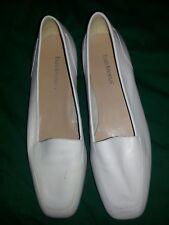 Enzo Angiolini Liberty Flats  White Leather 8-1/2 Medium