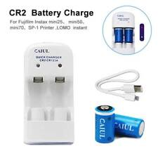5V 280mAh CR2CR123A Lithium Battery Charger For Fujifilm Instax Mini25/Mini I50